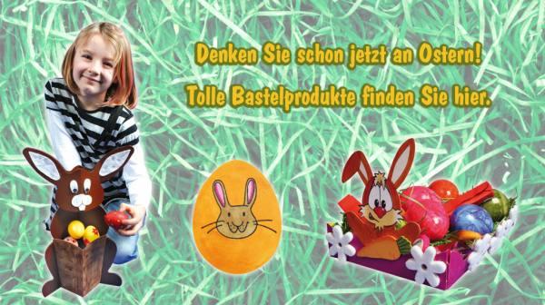 Basteln Frühling Ostern