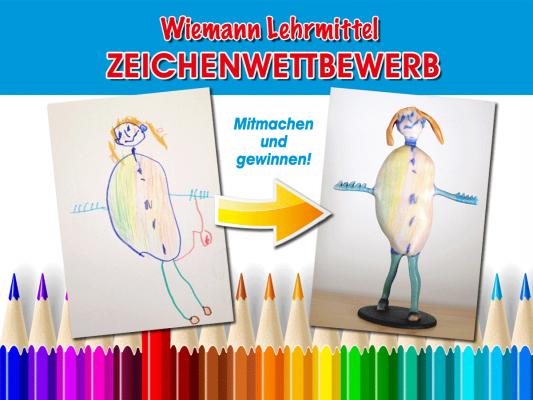 Wiemann Lehrmittel Zeichenwettbewerb