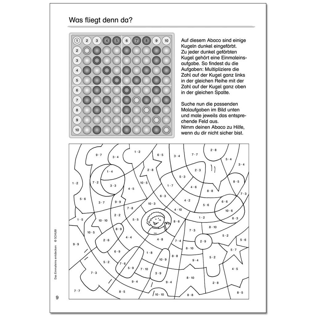 Das Einmaleins entdecken-W-30744