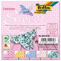 Faltblätter Sweet - Maße 10 x 10 cm