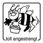 Stempel – toll angestrengt