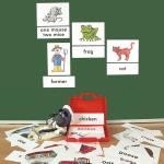 Bild- und Wortkarten - On a farm (auf dem Bauernhof)