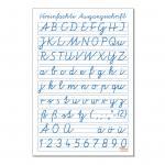 Schrifttafel – Vereinfachte Ausgangsschrift