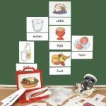 Bild- und Wortkarten - Food (Nahrung)