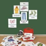 Bild- und Wortkarten - Clothes (Kleidung)