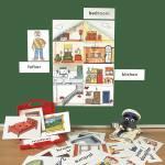 Bild- und Wortkarten - In the House (Im Haus)
