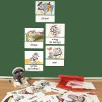 Bild- und Wortkarten - What we do (Was wir tun)