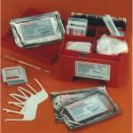 Blutgruppenbestimmung mit Trockentestseren