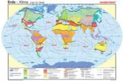 Wandkarte - Die Erde, Klima (Neef)