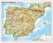 Iberische Halbinsel, VS physisch / RS politisch
