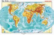 Die Erde, physisch (englische Ausgabe)