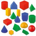 Große Geometrie-Körper - im Karton