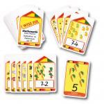 Kartensatz zum Turm Wissfix – Subtraktion bis 10