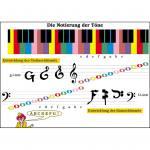 Transparentmappe Musiktheorie