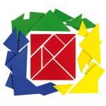 Tangramspiel im Kunststoffbeutel