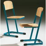 Schülerstuhl, Modell MT mit geschlossenem Sitzträger