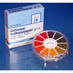 Universal- u. Spezial-Indikatorpapiere mit Farbskala
