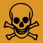 Warnhinweis Giftig -T-