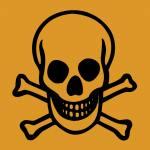 Warnhinweis Sehr giftig -T+-