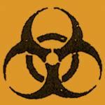 Warnhinweis Biogefährdend -B-