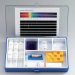 Gerätesatz Flammenfärbung/Spektralfarben mit Handspektroskop-