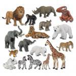 21 Zootiere im Set