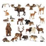 Schleich Heimische Wildtiere im Set