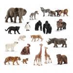 Schleich Wildtiere im Set