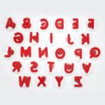 Stempelset - Riesen-Großbuchstaben
