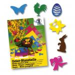 Oster-Stanzteile - farbig