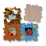 Holzpuzzle-Bilderrahmen zum Selbstgestalten