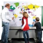 Blanko Riesen-Weltkarte