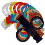 Kleine Laternen-Stanzformen - farblich sortiert
