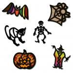 """Fensterbilder """"Halloween"""""""