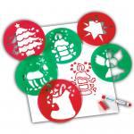 Schablonen Weihnachtsmotive