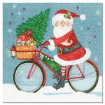 Servietten Weihnachtsmann/Nikolaus