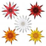 Papiere für Fenstersterne - in 2 Farben