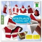 Nikolaus- und Weihnachtsmannbastelset