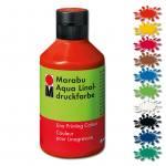 Marabu-Aqua-Linoldruckfarbe in 10 verschiedenen Farben