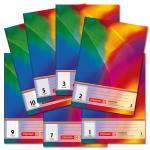 Schulhefte A5 - verschiedene Lineaturen