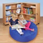 Klapp-Bibliothek in 3 verschiedenen Höhen