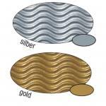 3D-Wellpappe - in 2 Farben lieferbar