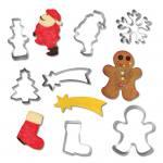 Ausstechformen Weihnachten - in 7 Motiven lieferbar