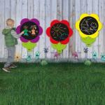 Outdoor-Tafeln mit Blumenmotiv