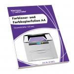 Hitzebeständige Kopier- und Farblaserfolien A4