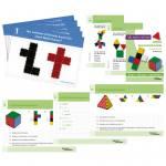 LOKON® Arbeitskarten zum Spiel mit geometrischen Figuren