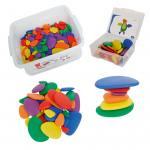 Regenbogen-Steine für Kinder