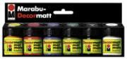 Marabu-Decormatt Grundfarbensortiment