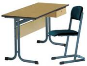 Lehrertisch, Modell MT mit PU-Kanten