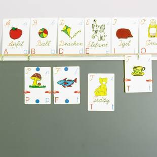 Wortbildkarten – Vereinfachte Ausgangsschrift